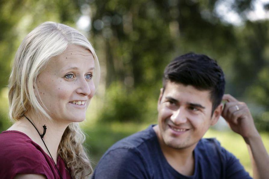 Eveliina Laakko ja Benjamin Contreras Perez asuvat nykyisin Oulussa Etelä-Amerikan matkojen jälkeen.