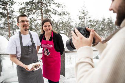 Huono äiti -yrittäjä Sari Helin löysi Kuusamosta rauhoittumispaikan koronatukikohun keskellä – Tulevassa ruokakirjassa yhdistyy rakkaus ruokaan ja luontoon