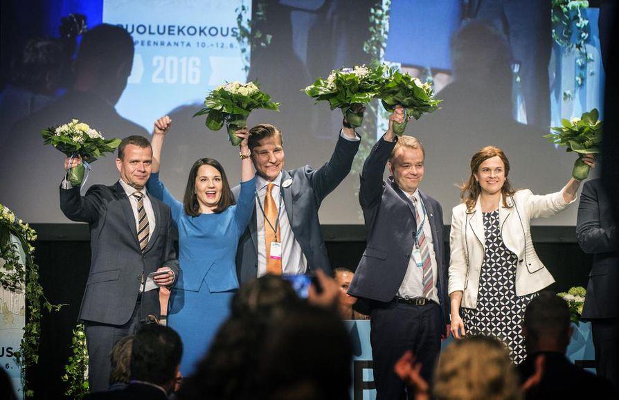 Kokoomuksen uudet varapuheenjohtajat valittiin sunnuntaina Lappeenrannassa.