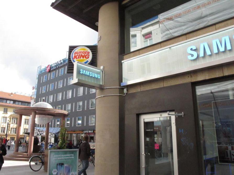 Oulun ensimmäinen Burger King avattiin Rotuaarille huhtikuussa 2015.