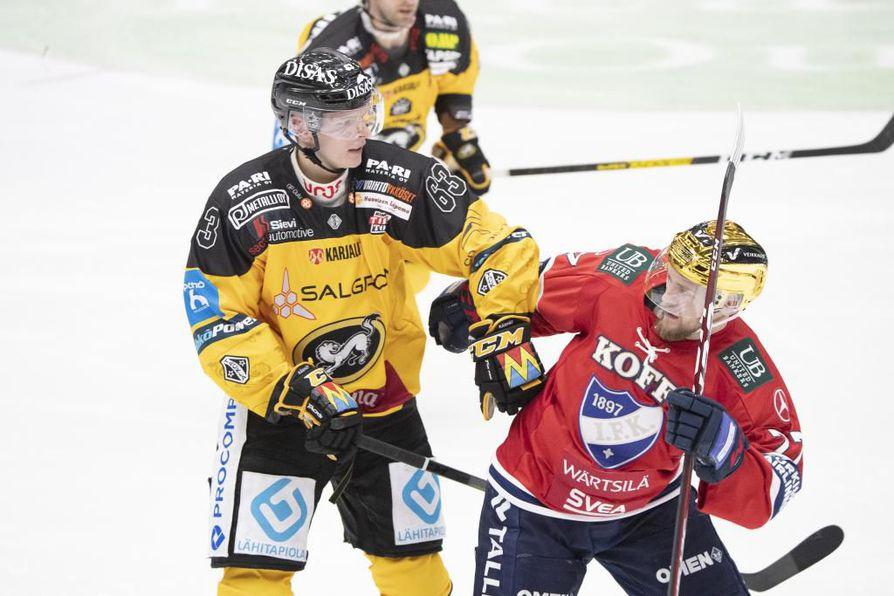 Kärpät ja HIFK kohtaavat jo neljännen kerran tällä kaudella.