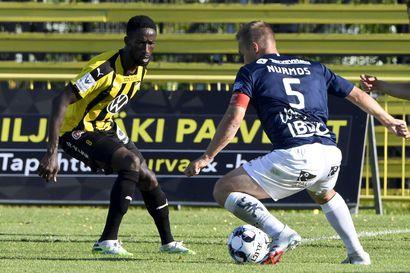 FC Honka kierrätti rajusti pelaajiaan, mutta AC Oululla jäi maali tekemättä – tasoitus jäi senteistä kiinni