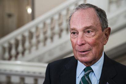New Yorkin entinen pormestari saa kannatusta demokraattien presidenttiehdokkaaksi