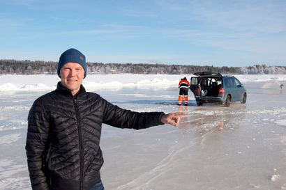Uusi runkovesiputki Kallaanvaarasta turvaa Kemijärven vesihuollon