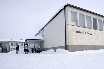 Raumon koulu on kiinni maanantaina – Tornion sivistystoimessa selvitetään miten yläkoulun opetus saadaan järjestettyä