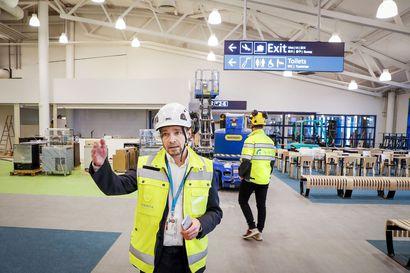 Finavia investoi 5 miljoonaa Kittilän lentoasemaan –Matkatavaroiden käsittelyyn uudet tilat, check-in -tiskejä lisää