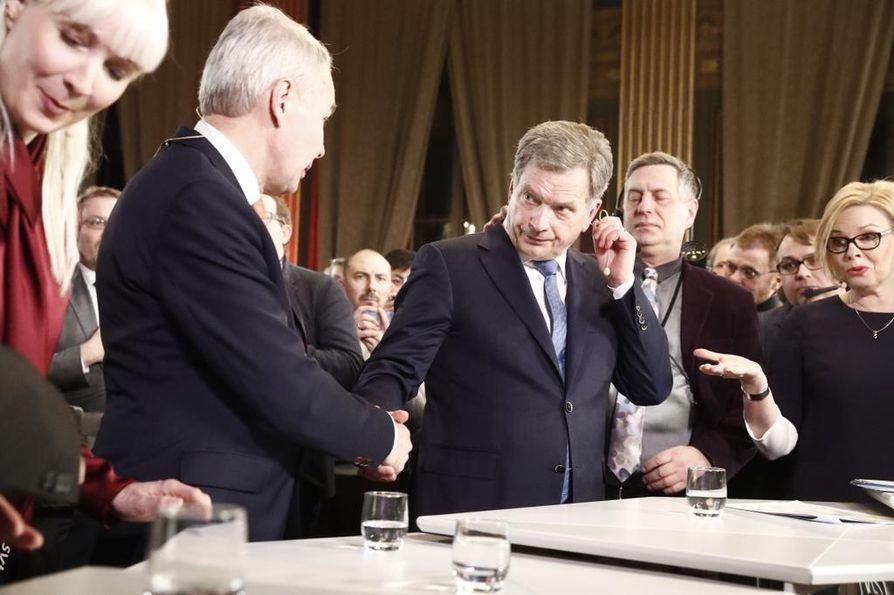 Presidentinvaalin äänistä on laskettu 100 prosenttia, ja Sauli Niinistö voitti ylivoimaisesti. Vihreiden Pekka Haavisto tuli toiseksi.