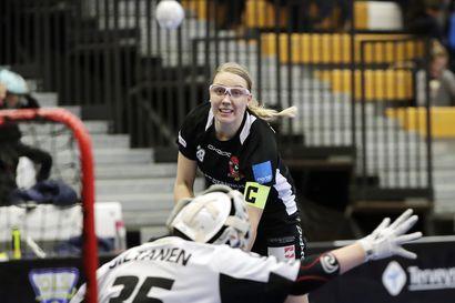Seuraava etappi Sveitsi – naisten salibandyliigan palkintopöydän putsannut Rankkojen Ankkojen Hanna Niemelä haluaa menestyä seuraavaksi alppimaan pääsarjassa