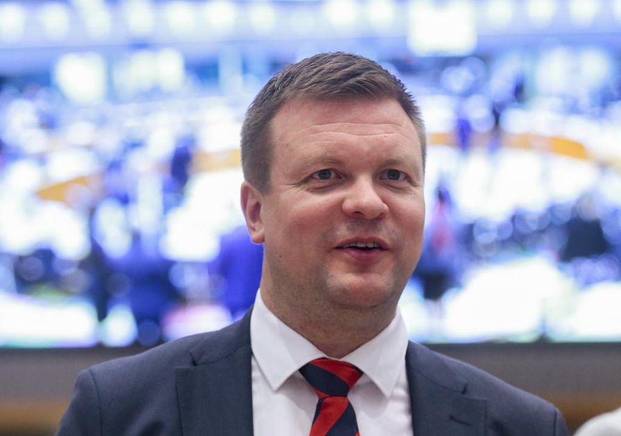 Kehitysyhteistyö- ja ulkomaankauppaministeri Ville Skinnari (sd.) sanoo brexitin työllistävän yrityksiä, kun ne joutuvat suunnittelemaan toimintaansa uudelleen.