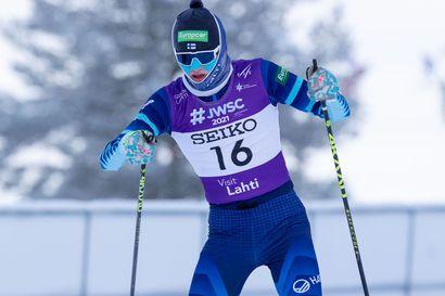 Nuorten MM-yhdistetyn kulta Itävaltaan – OH:n Waltteri Karhumaalla (18.) oli vaikea hiihto