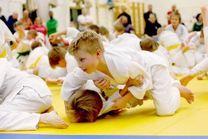 Monen judokan ensimmäinen kosketus kilpailuun