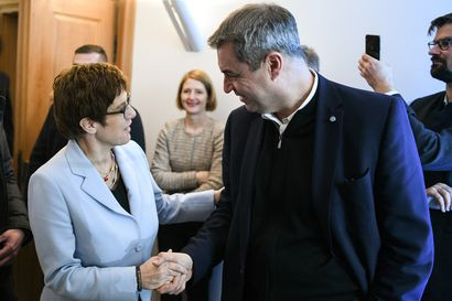 Saksan ja Euroopan johtoon ehdolla ainakin neljä versiota pukumiehestä – Merkelin seuraajaksi kaavailtu Annegret Kramp-Karrenbauer luopui ja avasi liittokansleripelin