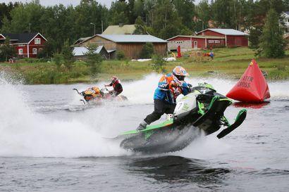 Morten Blien piti pintansa Sodankylän vesicrossissa