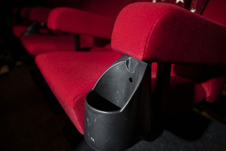Penkit löytyivät remontissa olleesta elokuvateatterista.