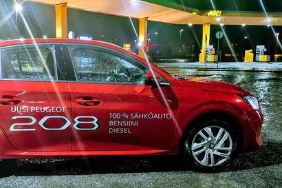 Sama kori ja kolme voimalinjaa - Peugeot 208:n ulkomuotoon on rakennettu näyttävyyttä