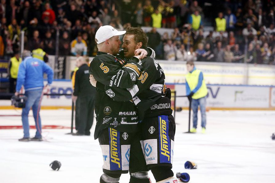 Lasse Kukkonen ja Juhamatti Aaltonen ovat olleet vuosien varrella lähes erottamaton parivaljakko.