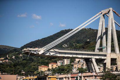 Toimittajamme Genovassa: Toivo ihmisten löytämisestä Morandi-sillan raunioista alkaa hiipua, lisäromahdusten uhka hidastaa raivaustöitä