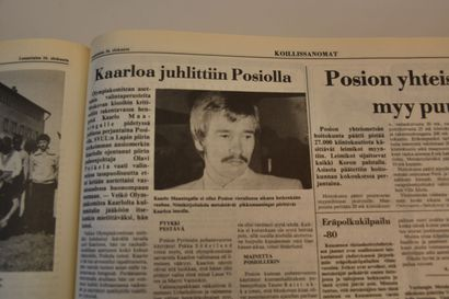 Kaarlo Maaningan olympiamitaleista 40 vuotta – näin Koillissanomat uutisoi aikanaan