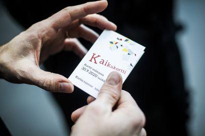 Kaikukortin käyttö alkoi Rovaniemellä – Kortti tarjoaa vähävaraisille pääsyn kulttuuri- ja liikuntapalveluihin