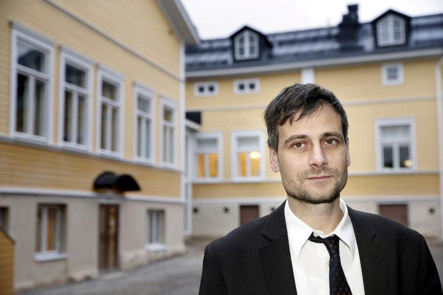 Árpád Kovács sanoo, että hän aikoo tehdä varoituksesta oikaisuvaatimuksen. Arkistokuva.