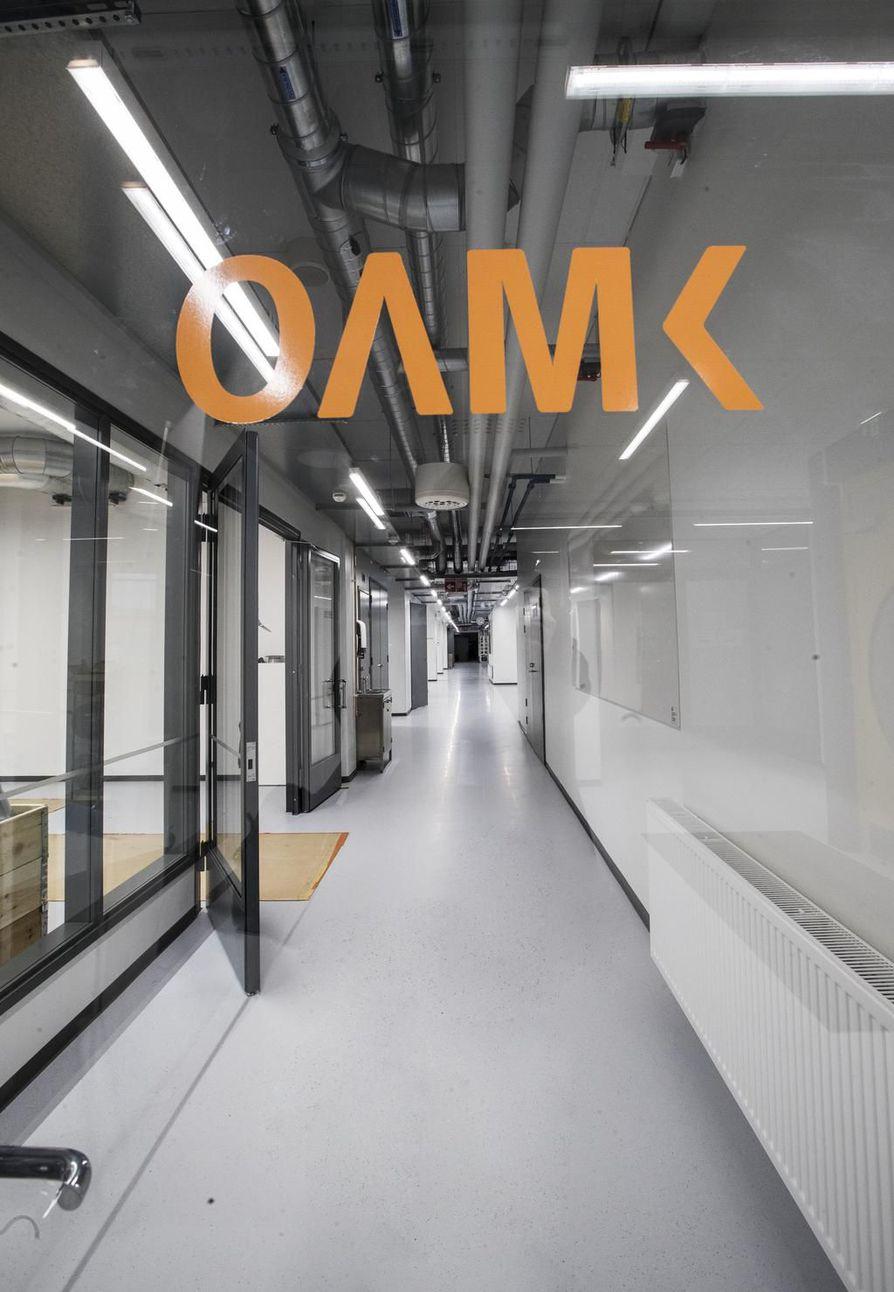 Oulun ammattikorkeakoulun informaatioteknologian opiskelijat ovat jo siirtyneet uusiin opetustiloihin Linnanmaan kampukselle.