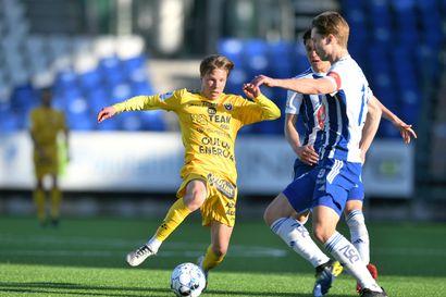 Nuoret miehet AC Oulun ilonaiheena Helsingissä – HJK jatkoi silti sarjanousijan tappioputkea