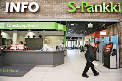Finanssivalvonta määräsi S-pankille lähes 1,7 miljoonan seuraamusmaksun – myös POP Pankkikeskus sai maksun ja julkisen varoituksen
