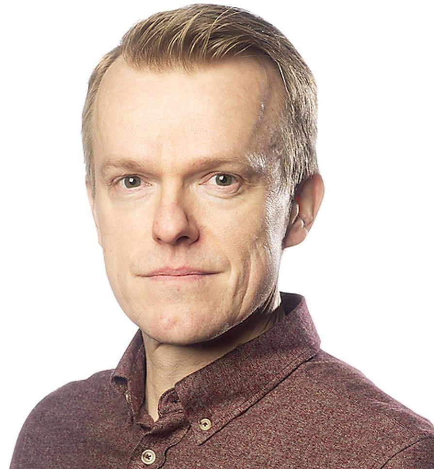 Kriitikko Pekka Eronen.