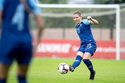 Natalia Kuikka on tyytyväinen peleihinsä Göteborgissa