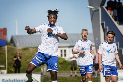 Kemi City FC dominoi täysin sarja-avausta – Ebuka Samson murjoi kuopiolaisvieraita