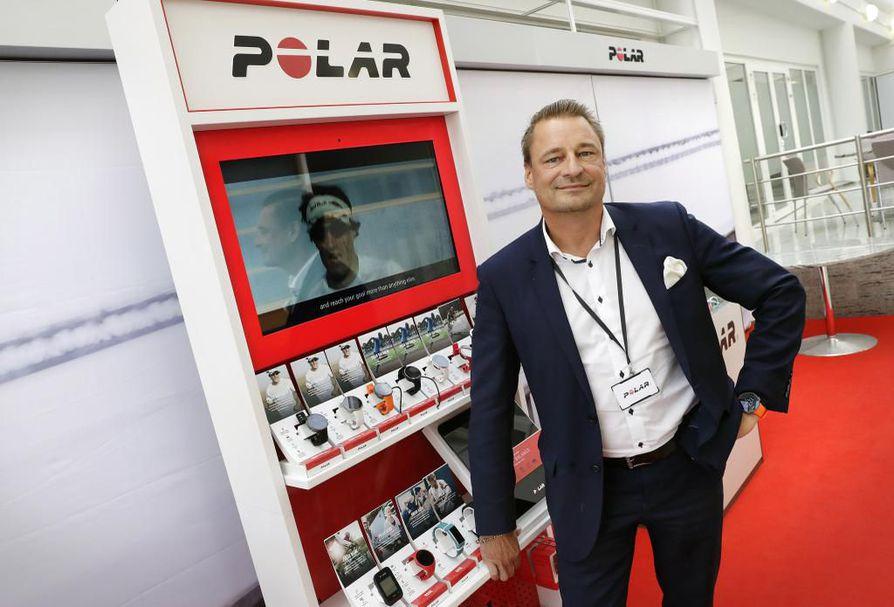 Urheiluteknologiaa kehittävän kempeleläisen Polar Electron uusi toimitusjohtaja Tomi Saario sanoo, että yhtiössä on sisällä poikkeuksellisen vahvaa tietotaitoa, jolla pärjää globaalissa kilpailussa.