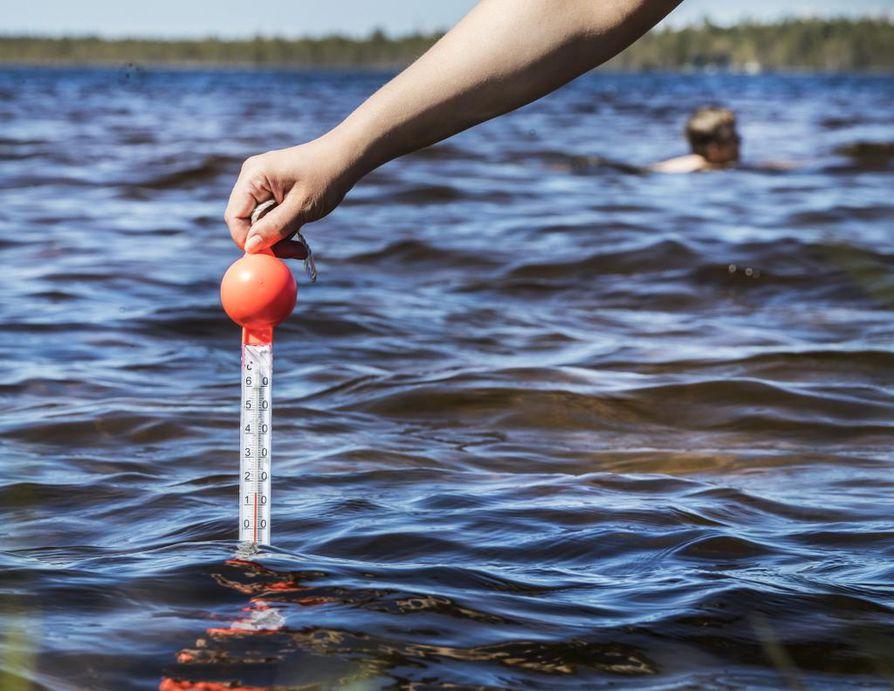 Oulun uimarannat täyttivät uimavedelle asetetut laatuvaatimukset.