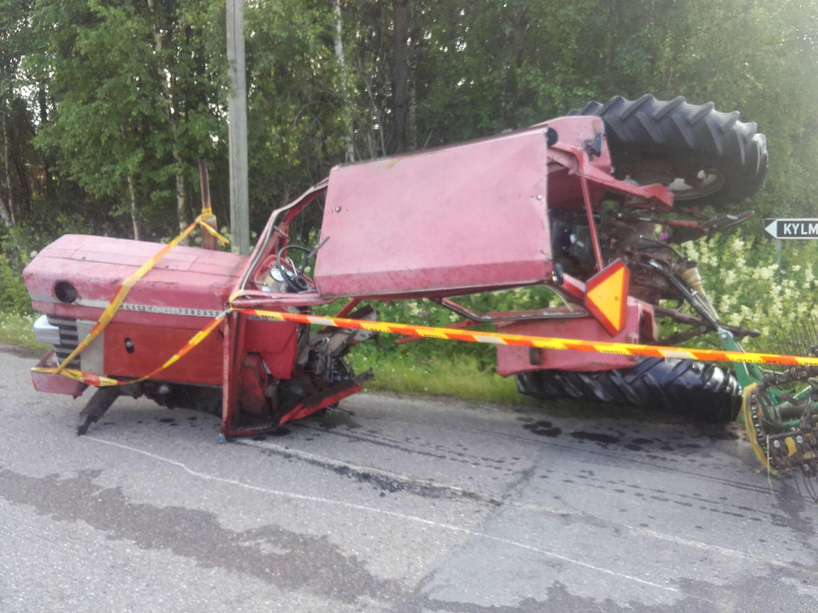 Traktorinkuljettaja