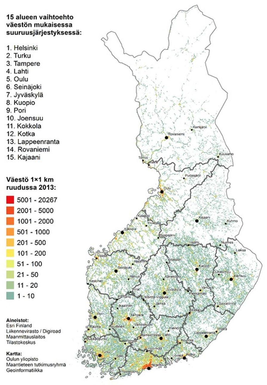 Oulun Yliopisto Laati Sote Vaihtoehtoja Sitran Pyynnosta Katso