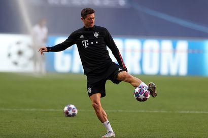 """Bayern-valmentaja Flick: """"Et voi verrata Lewandowskia ja Messiä"""" - tähdet kohtaavat illan ottelussa"""