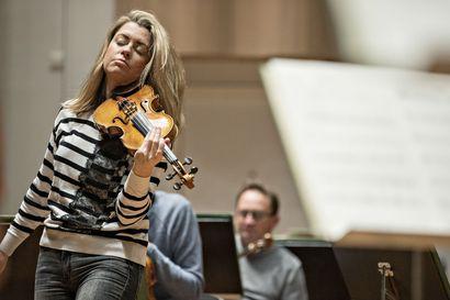 Anna-Liisa Bezrodnyn mummi kasvatti Oulussa pari viulistisukupolvea