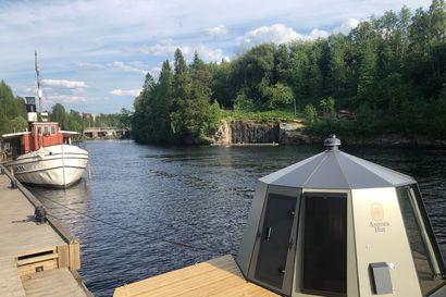 Oulujärvellä voi pian yöpyä kelluvassa iglussa ympärivuotisesti