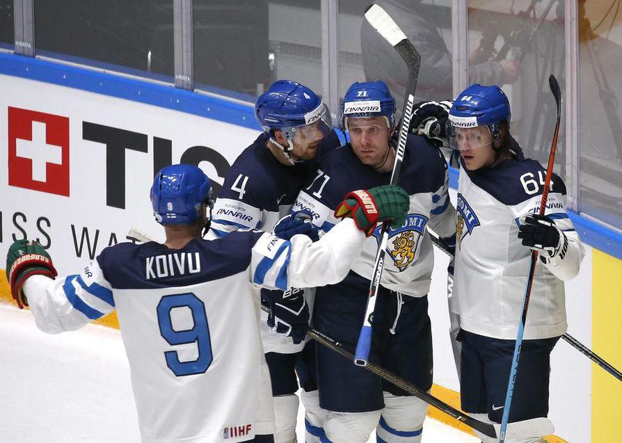 Leijonat taistelevat menestyksestä toukokuun MM-kisoissa Keski-Euroopassa.