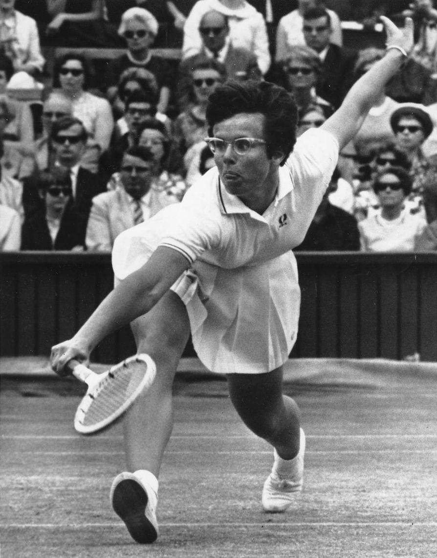 Billie Jean King voitti urallaan 39 Gran Slam -turnausta. 1970-luvulla hän oli mukana aloittamassa tenniksen ammattilaiskiertuetta naisille.