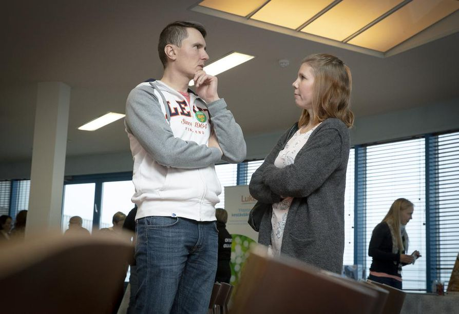 Hanna ja Jaakko Tervakangas  pitävät tärkeänä oikeaa yhdessä tekemistä, jossa töitä ei jaeta jommalle kummalle vaan ne tehdään oikeasti yhdessä.