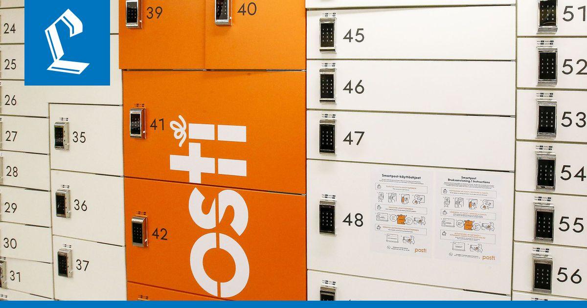 Pakettiautomaatista