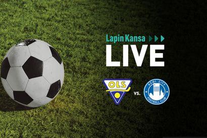 Lapin Kansa Live: OLS kohtasi Kemi City FC:n kuuden pisteen ottelussa – Katso tallenne
