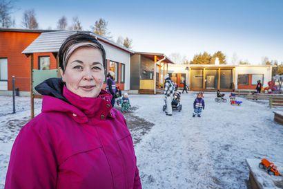 """Rovaniemeläinen Päiväkoti Kotola vaihtaa omistajaa: """"Oma osaaminen ei enää riitä"""", päiväkotiketjun myynyt Mari Jolanki kertoo."""