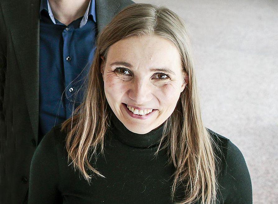Jenni Räinä oli mukana työryhmässä, jonka teos Metsä meidän jälkeemme sai keskiviikkona Tieto-Finlandian.