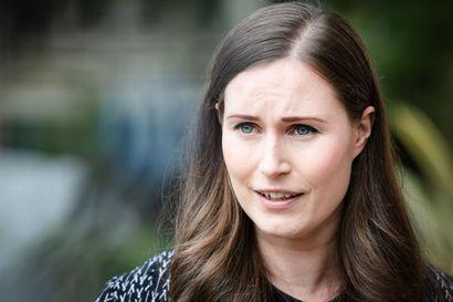 Pääministeri Marin siirtyy etätöihin lievien hengitystieoireiden vuoksi
