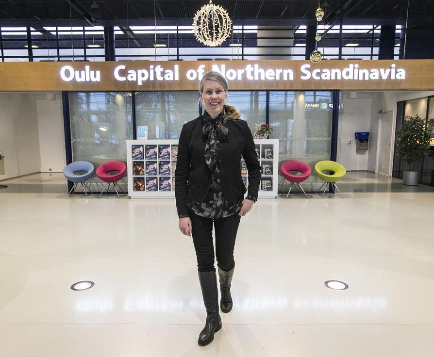 Oulun Matkailu Oy:n toimitusjohtajana puoli vuotta toiminut Päivi Penttilä on sitä mieltä, että Oulun seutu pitää saada kotimaan matkailun puheenaiheeksi.