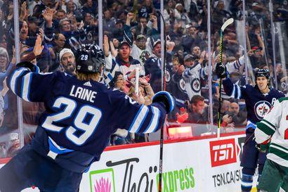 """Patrik Laine nousi NHL:n pistepörssin kärkeen: """"En usko, että olen vielä parhaimmillani"""""""