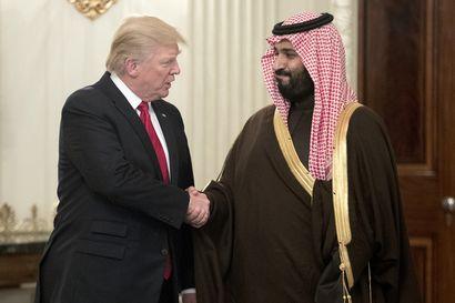 Yhdysvaltojen ja Saudi-Arabian välejä lämmittää yhteinen vihollinen Iran – Suhde on lujittunut Trumpin kauden aikana