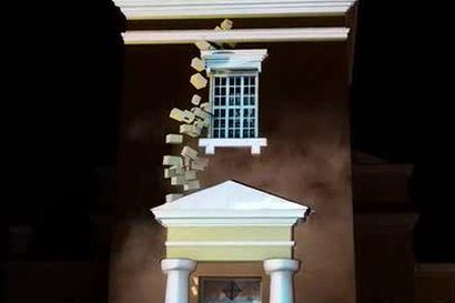 Lukijan video tuomiokirkosta Lumo-festivaaleilta