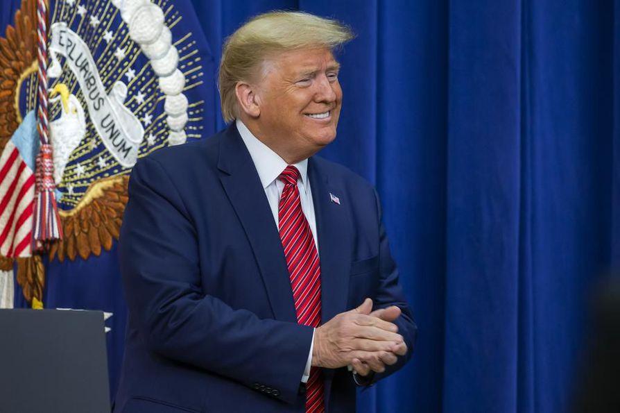Donald Trump pyrkii toiselle presidenttikaudelle marraskuun vaaleissa.